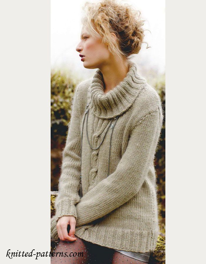Womens Sweater Knitting Pattern Free Knitting Stuff In 2018