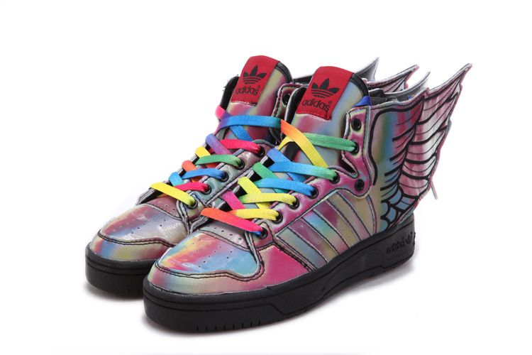adidas wings rainbow