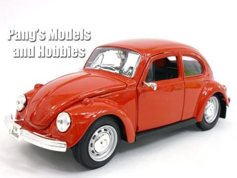 Volkswagen Vw Classic Beetle 1 24 Scale Diecast Metal Model By Maisto Vw Classic Volkswagen Metal Models