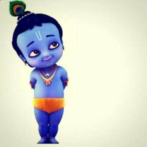 Charm And Cuteness In One Bowl Little Krishna Baby Krishna Cute Krishna