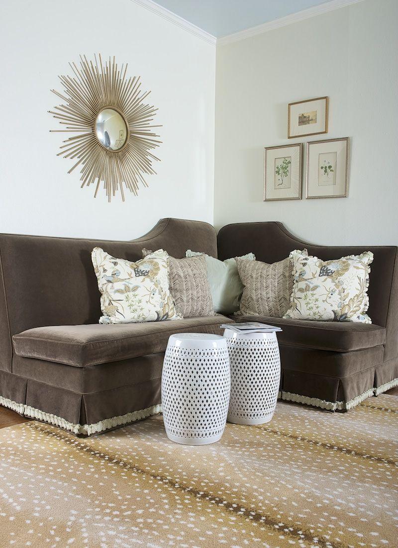 Merrimac Residence Amy Berry Design Living Room Carpet