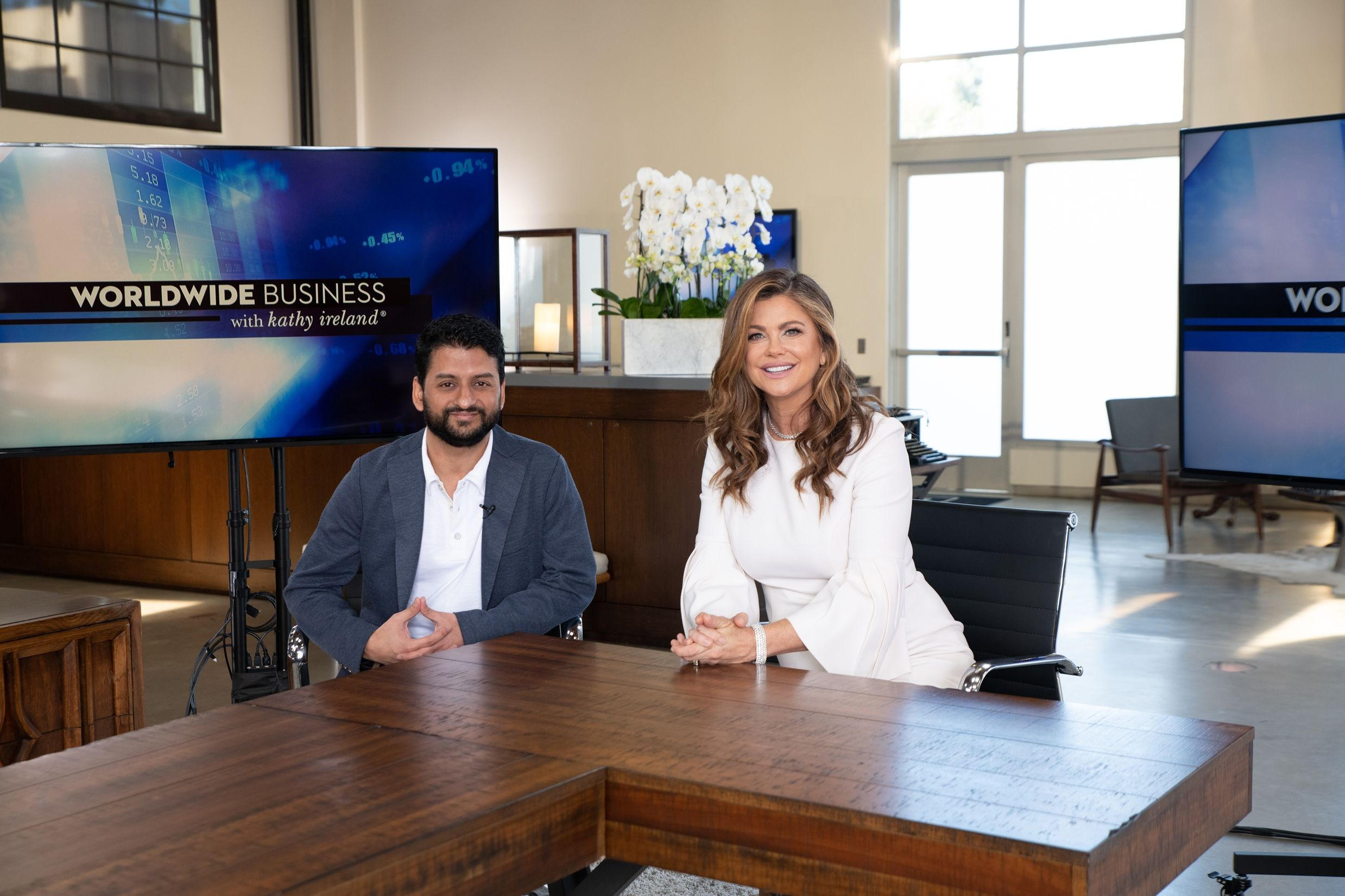 Worldwide Business With Kathy Ireland See Itsacheckmate Discuss Their Revolutionary New Technology That Allows Restaurants Nashville News Kathy Ireland News Finance