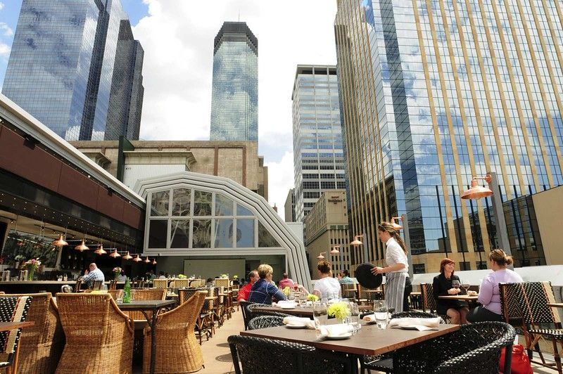 The Patio At Union In Downtown Minneapolis Features A Retractable Gl Roof Pioneer Press File Photo Scott Takushi