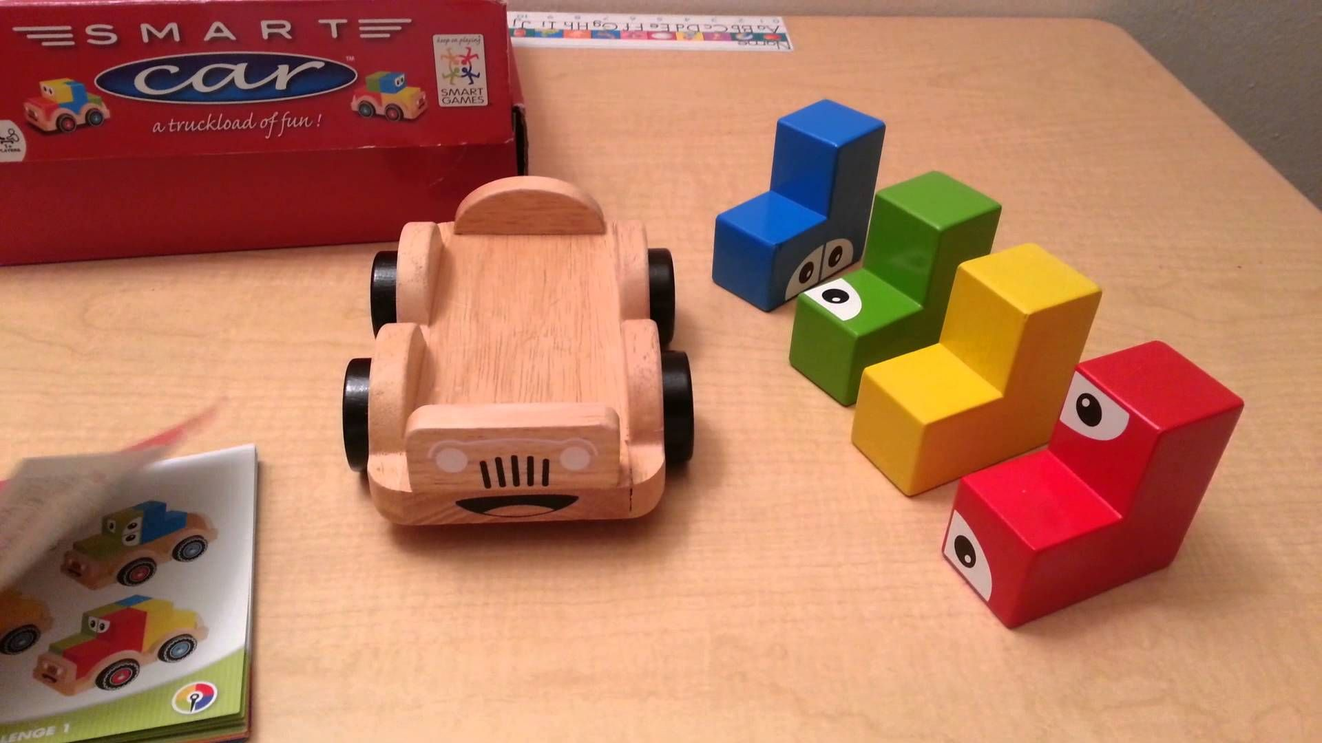Educational car toys  Smart Car by Smart Games Children Educational Logic ToyGame