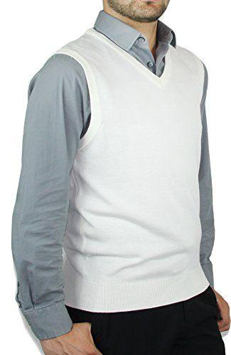 Blue Ocean Solid Color Sweater Vest-3X-Large Blue Ocean http://www ...