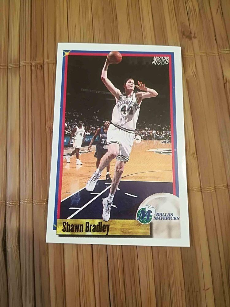 Shawn Bradley Dallas Maverick sticker 107 Panini