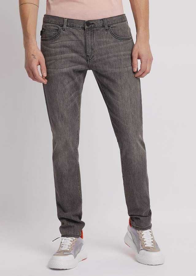 af9369ac Emporio Armani Extra Slim-Fit J10 Stretch Cotton Denim Jeans in 2019 ...