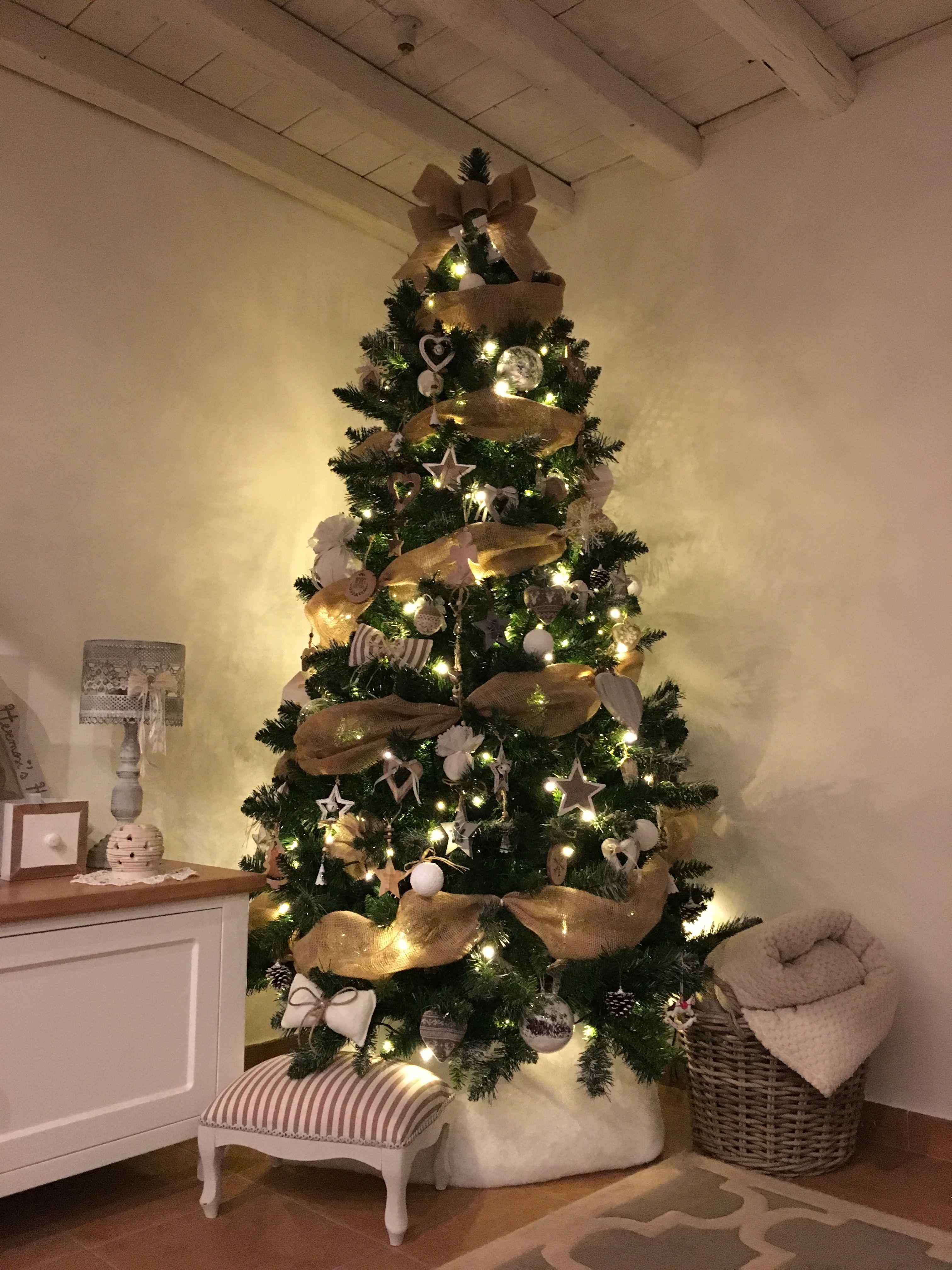 Natale Shabby 2018.Il Mio Albero Di Natale 2017 Christams Tree Shabby
