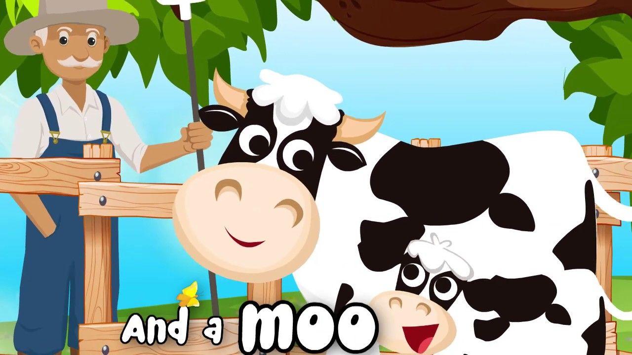 Old Mcdonald Had A Farm With Lyrics اغنية جدو علي بالانجليزي Mickey Mouse Anime Mickey