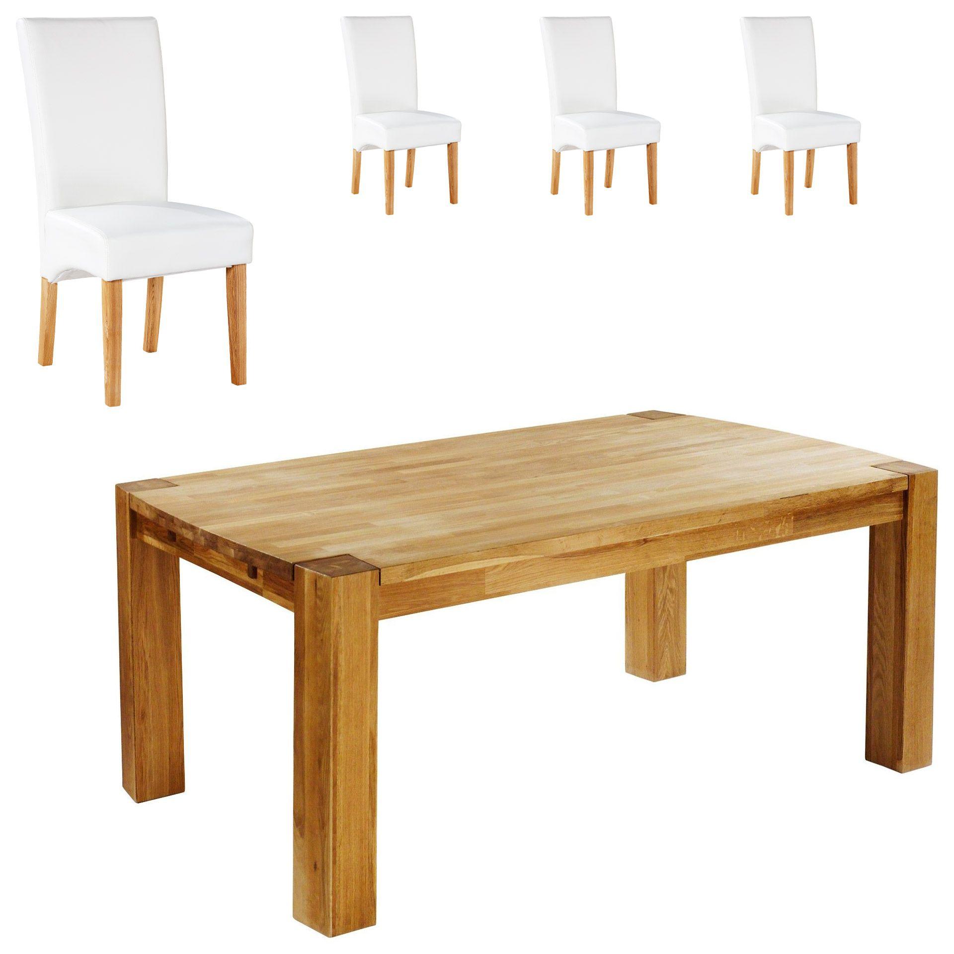 Bezaubernd Esstisch 120x80 Ausziehbar Das Beste Von Esszimmertisch Und Stühle | Eiche | Stühle