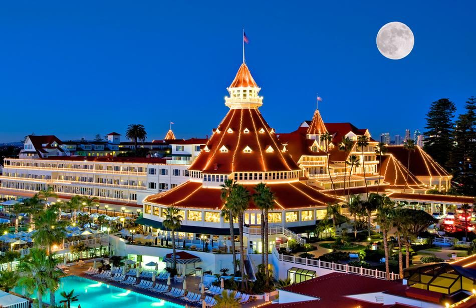The resort is a National Historic Landmark and a