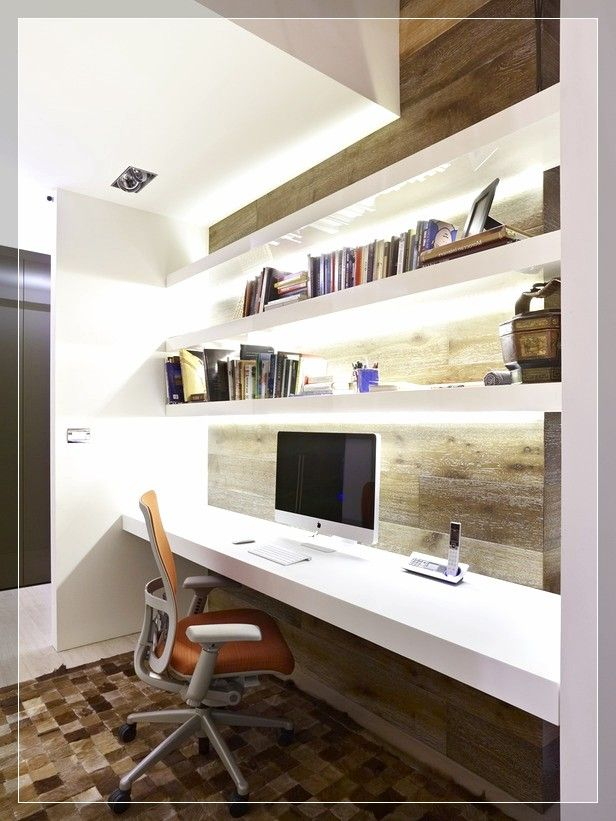 Bedroom Office Ideas Neutral Modern Home Office Decor