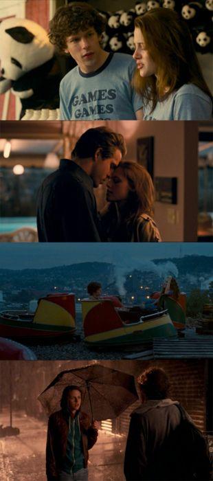 """""""Adventureland"""" (2009) directed by Greg Mottola/ starring Jesse Eisenberg, Kristen Stewart & Ryan Reynolds"""