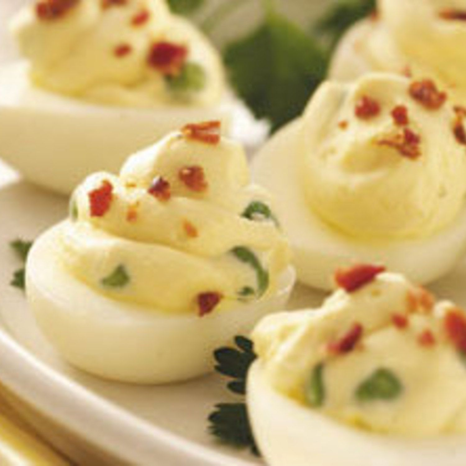 Cream Cheese Deviled Eggs | Recipe | Cream cheeses, Egg ...