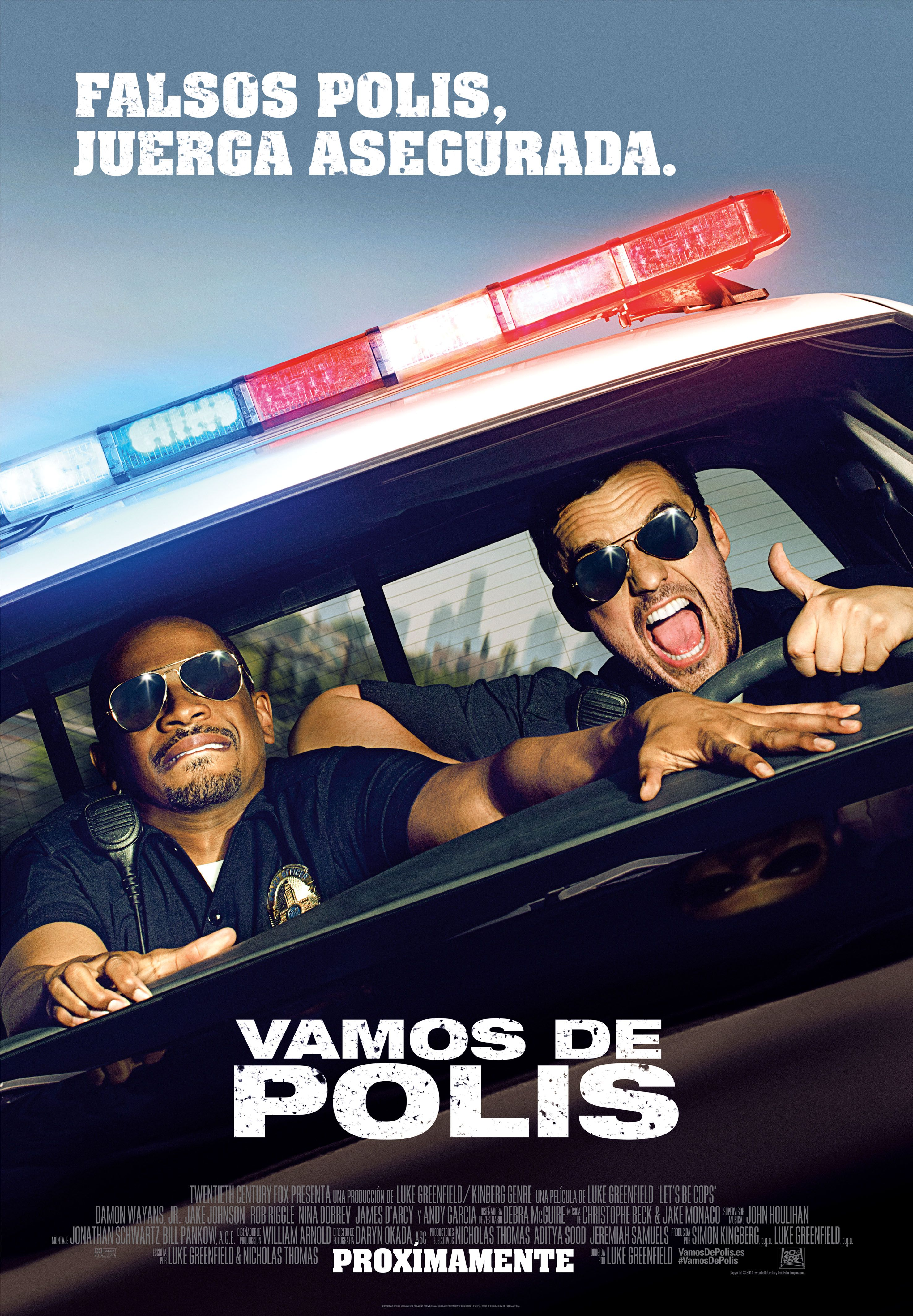 Vamos De Polis Lets Be Cops Peliculas Completas Y Descargar Pelicula