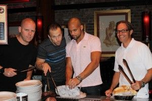 Grilling with SHAUN T, the creator of the Insanity Workouts. How cool is this? Click to learn something you may not know about Shaun T. | TheFitClubNetwork.com