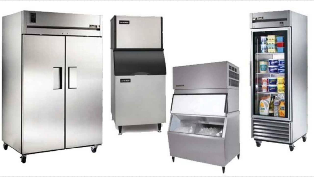 Src walk in freezer locker storage appliance repair