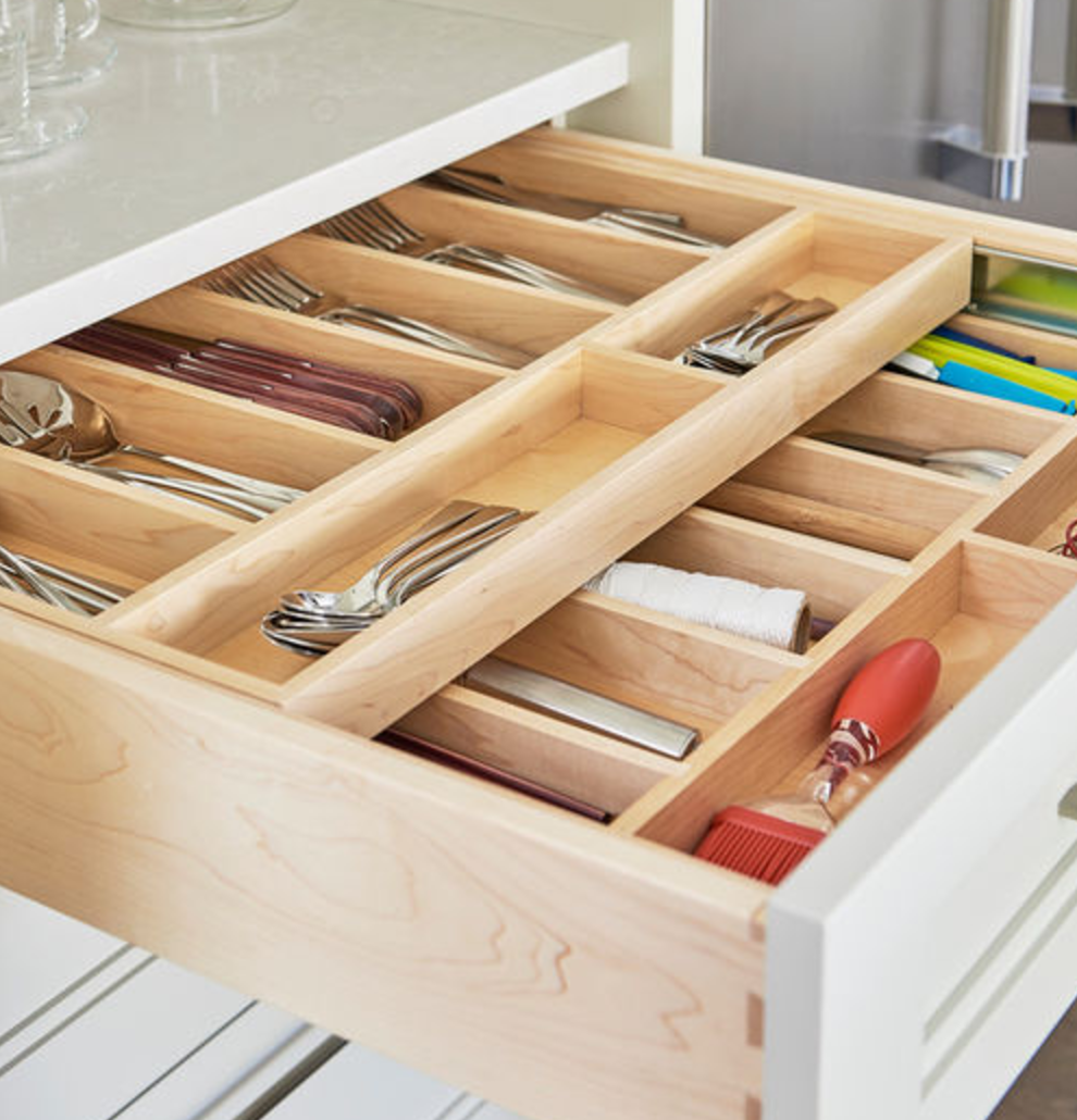 10 Tips For Perfectly Organized Kitchen Drawers The: The 10 Most Organized Drawers On The Internet