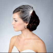 We Offer CUSTOM Wedding Birdcage Veils Fascinators Bridal Hats Personalize Using High Quality French Netting English Silk Swarovski Beads