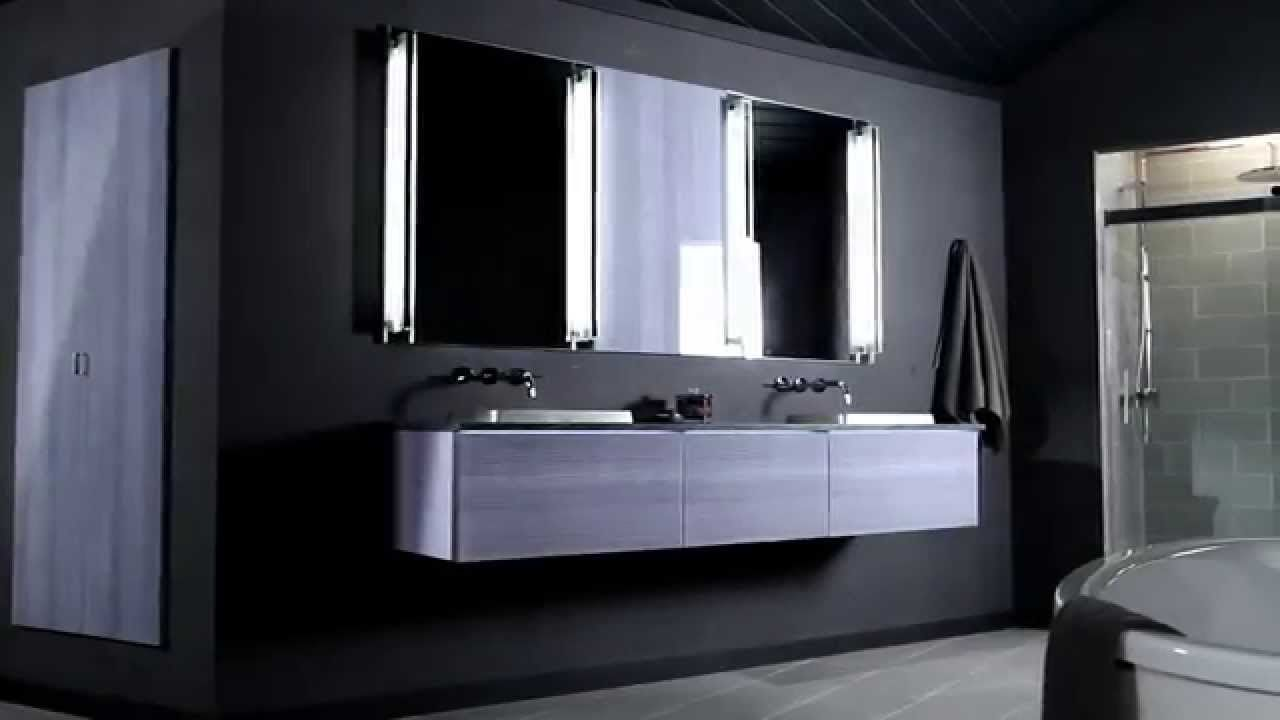 Stylish Vanity With Robern Medicine Cabinets  Amazing Floating Vanity With  Double Sinks And Robern Medicine. Stylish Vanity With Robern Medicine Cabinets  Amazing Floating