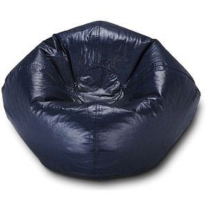 "96"" Round Vinyl Matte Bean Bag, Multiple Colors  comes in orange  Online   $19.88.."