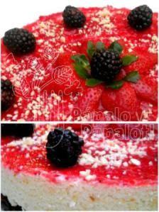Cheese Cake ai frutti di bosco | ravanellocurioso