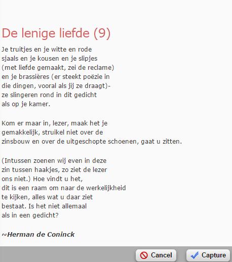De Lenige Liefde Herman De Coninck Gedichten Mooie