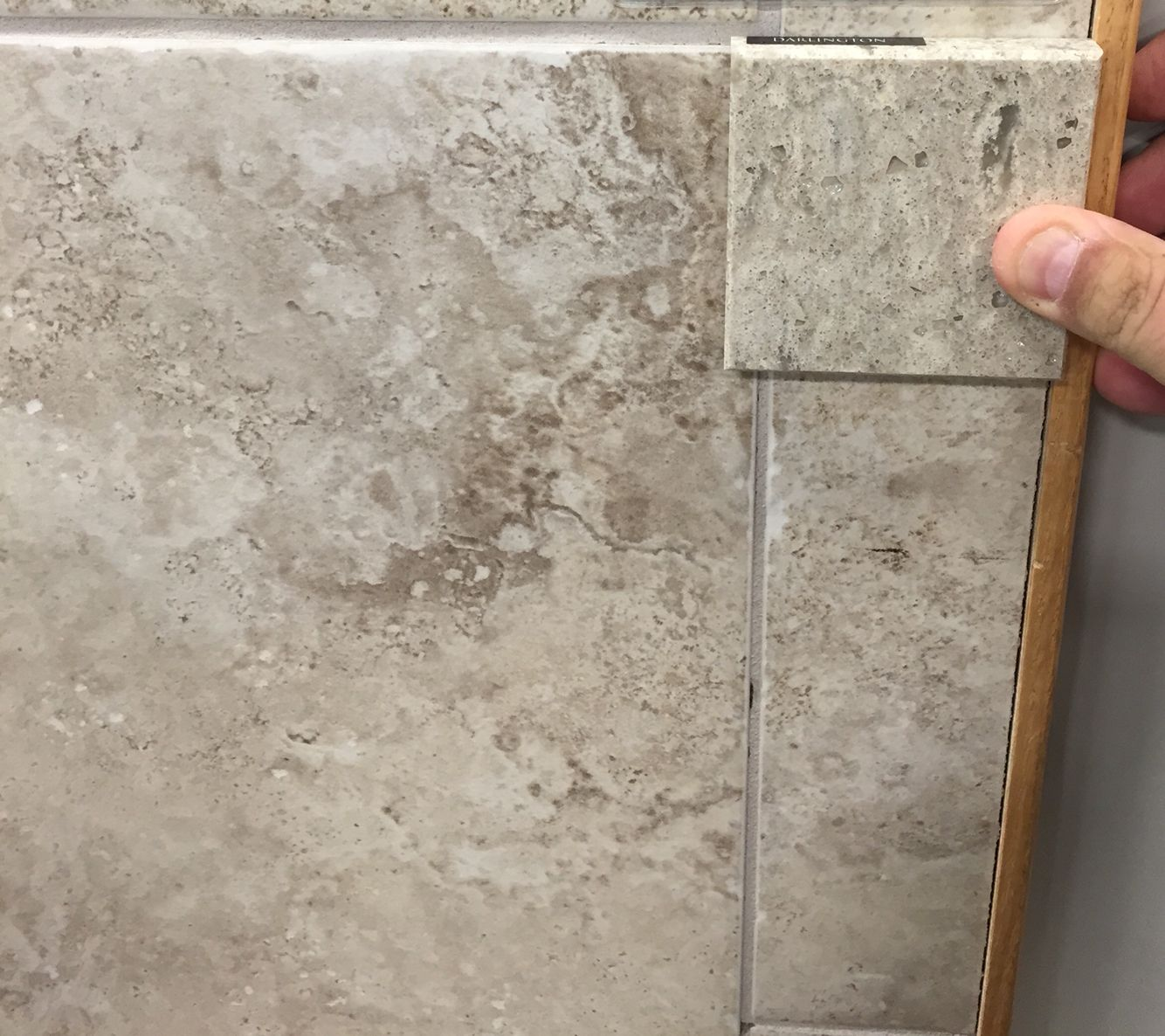 tile shopping. - cambria quartz darlington counter sample from