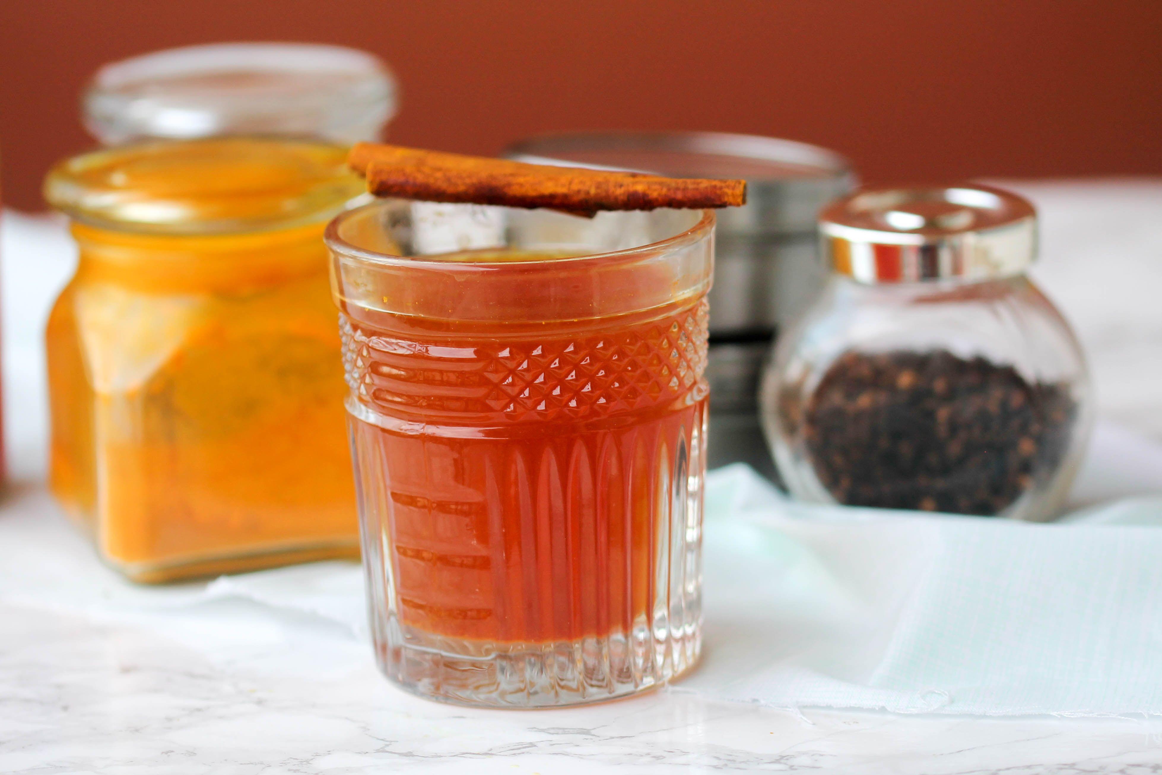 Homemade cold tonic food pleasure health recipe