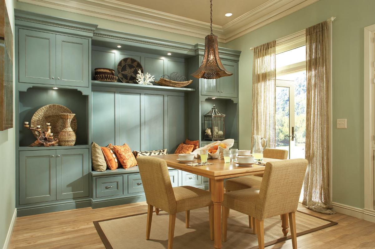 Kitchen Cabinets And Bath Cabinets Medallion Cabinetry Dining Room Bench Seating Medallion Cabinets Dining Room Bench