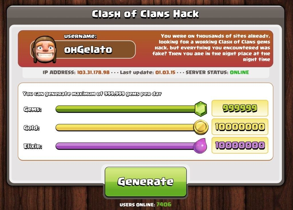 Clash Of Clans is Incomplete Without Gems Golds Elixirs. If You