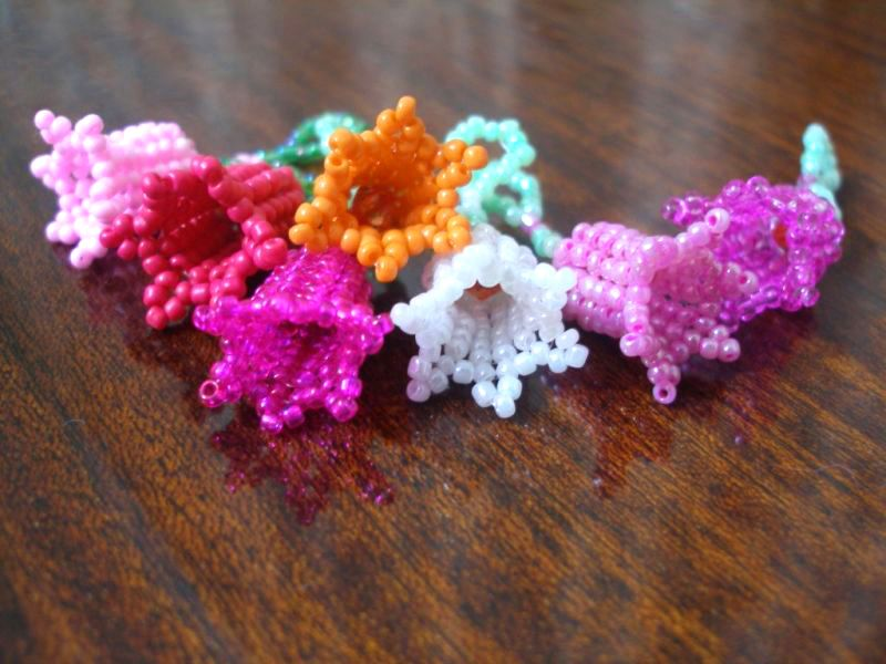 best 25 beaded flowers patterns ideas on seed
