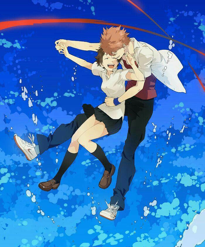 Chiaki Mamiya and Makoto Konno cttro. Anime films