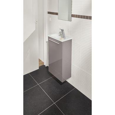 Meuble lave-mains FOKUS vasque verre - Meuble De Salle De Bain Sans Vasque