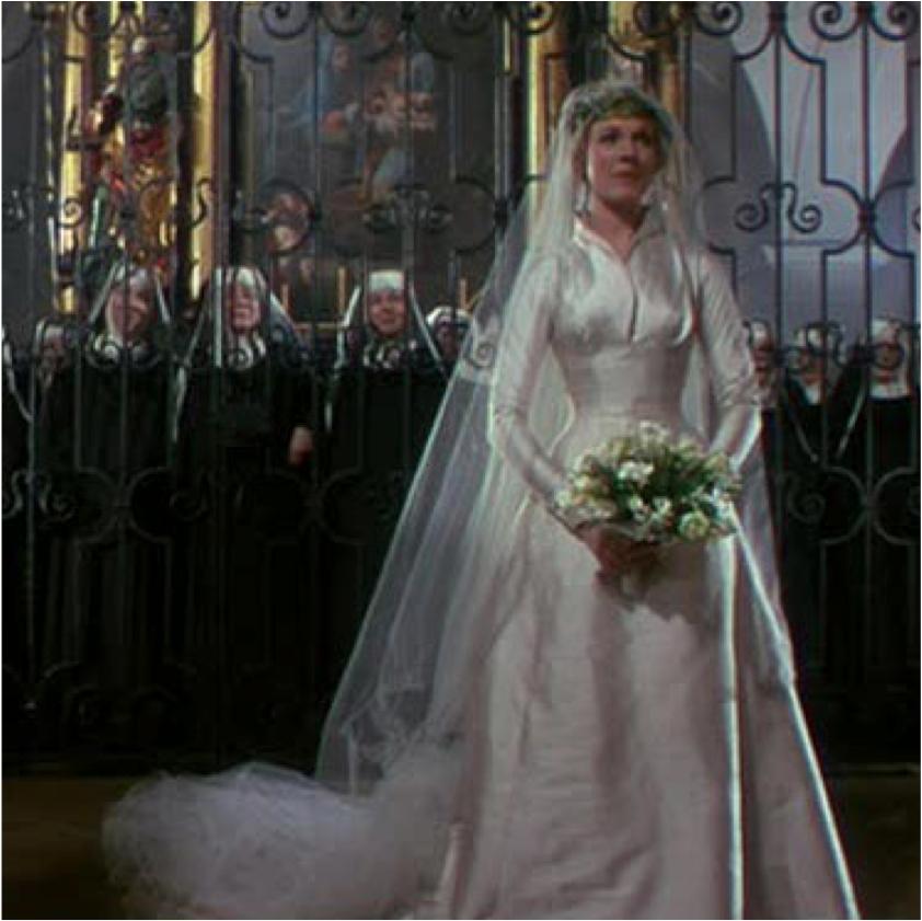 sound of music wedding dress - Wedding Decor Ideas