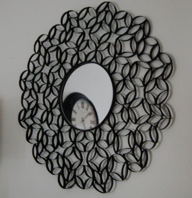 Charmant 25 Creative DIY Toilet Paper Roll Wall Art