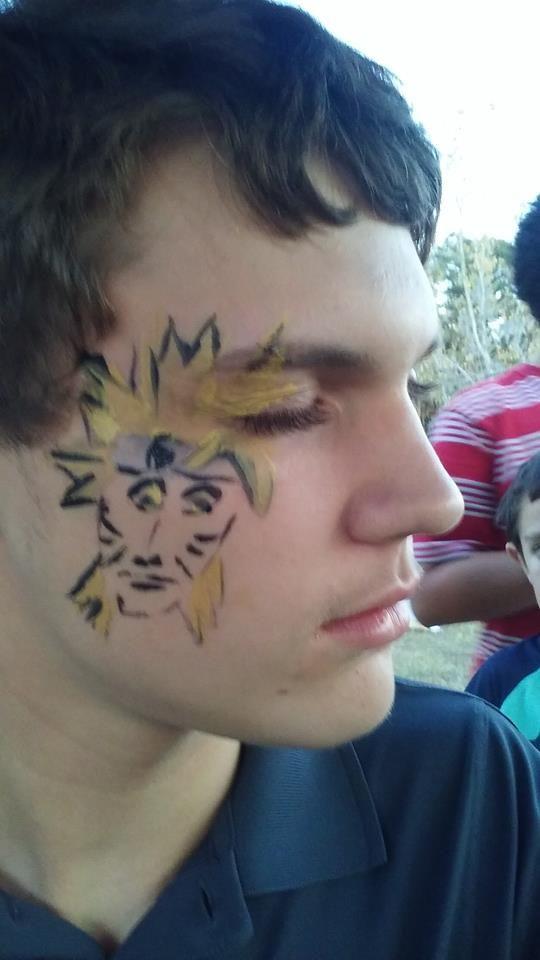 Narutofacepaint Animefacepaint Funfacesballooncreationsfacepaint Face Painting Face Painting Designs Face Paint