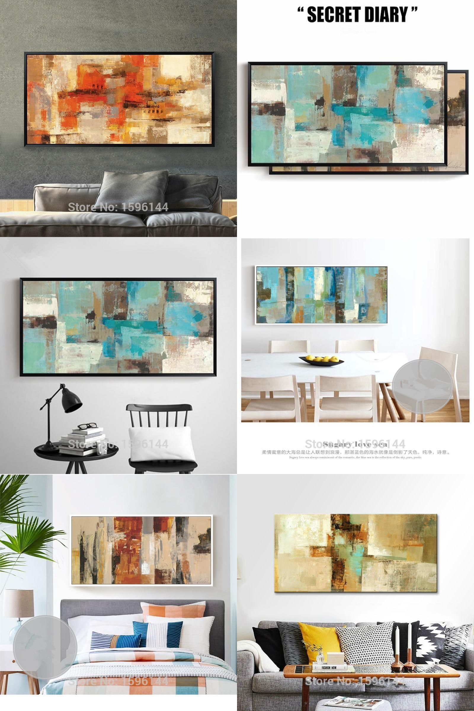 Room Visit to Buy Hand painted canvas