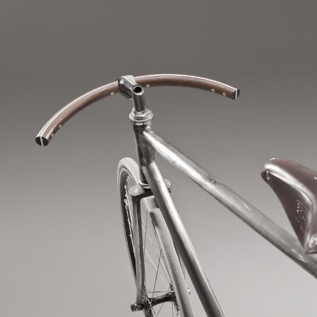 F La Reine Curved Handlebar Sweet Fixed Bike Pinterest