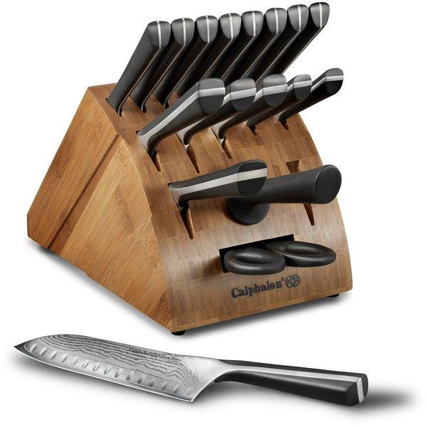 calphalon katana series 18 pc cutlery set 355 liked on rh pinterest com
