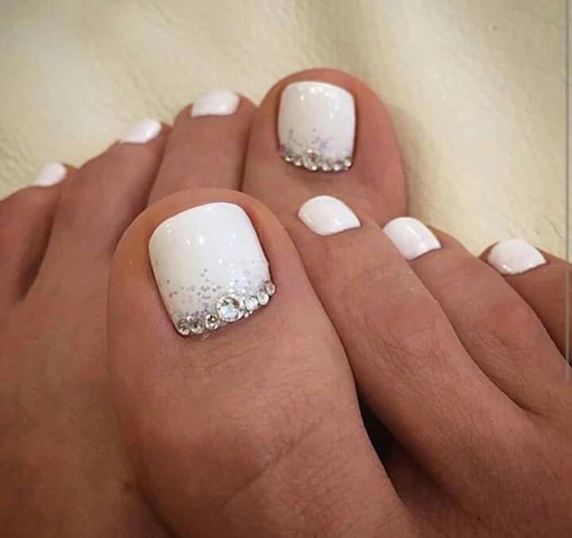 75 Cool Summer Pedicure Nail Art Design Ideas | Pinterest ...