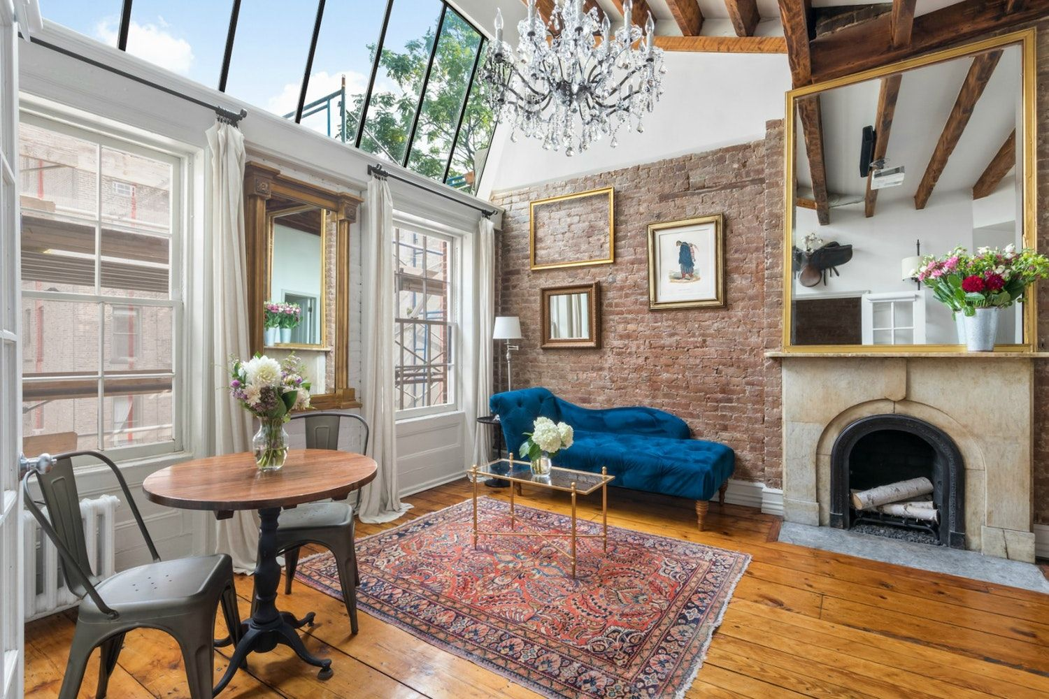 Charm u Light in this Romantic East Village Bedroom Gem  East
