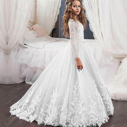 Vestidos elegantes para primera comunion