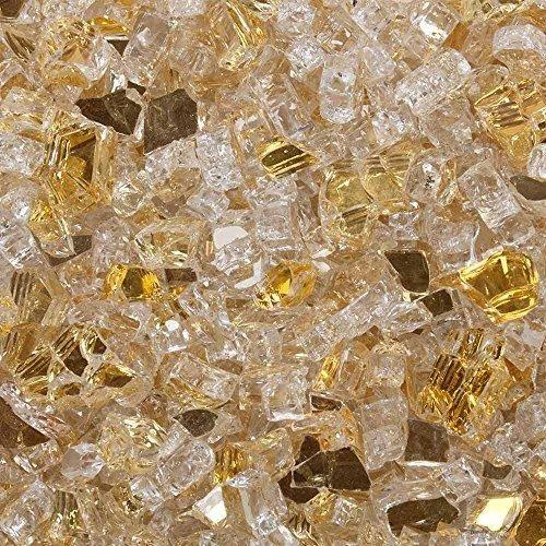 celestial fire glass sunstorm gold 1 4 inch reflective tempered rh pinterest com