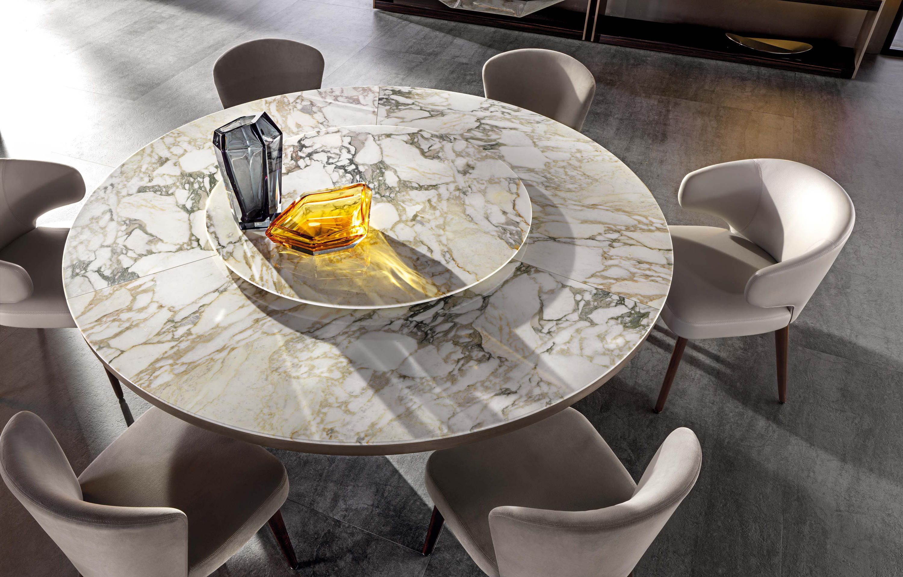 Morgan Marble Dining Tables From Minotti Architonic Dining