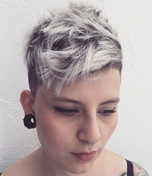 Short Punk Hairstyles Prepossessing 35 Short Punk Hairstyles To Rock Your Fantasy  Undercut And Blondes