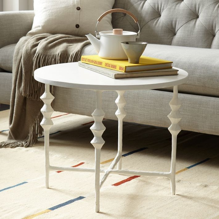 steven alan papier m ch side table round side tables table rh pinterest ca
