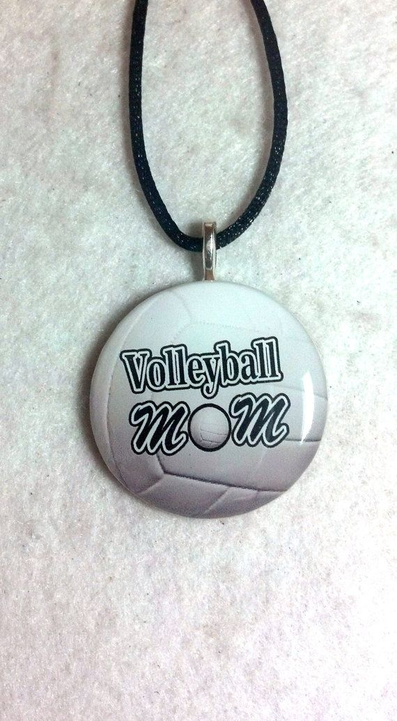Volleyball mom necklace sports pendant by sherrollsdesigns explore volleyball mom necklace sports pendant by sherrollsdesigns explore more products on http aloadofball Image collections