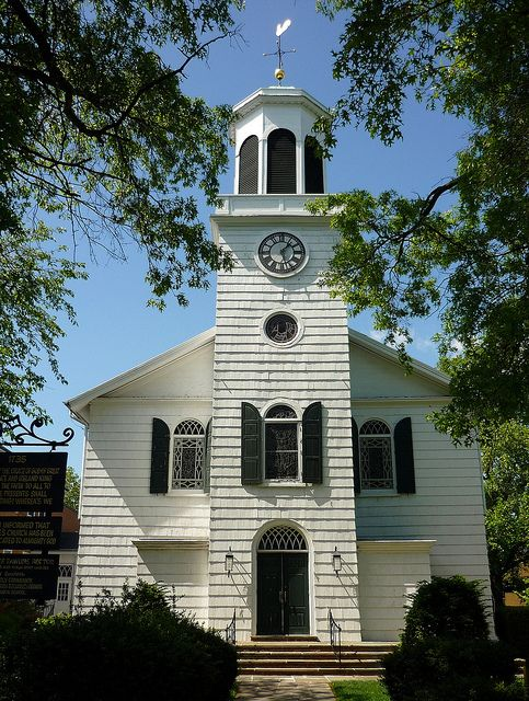 St George's Episcopal Church, 1735, Hempstead, Long Island, New York