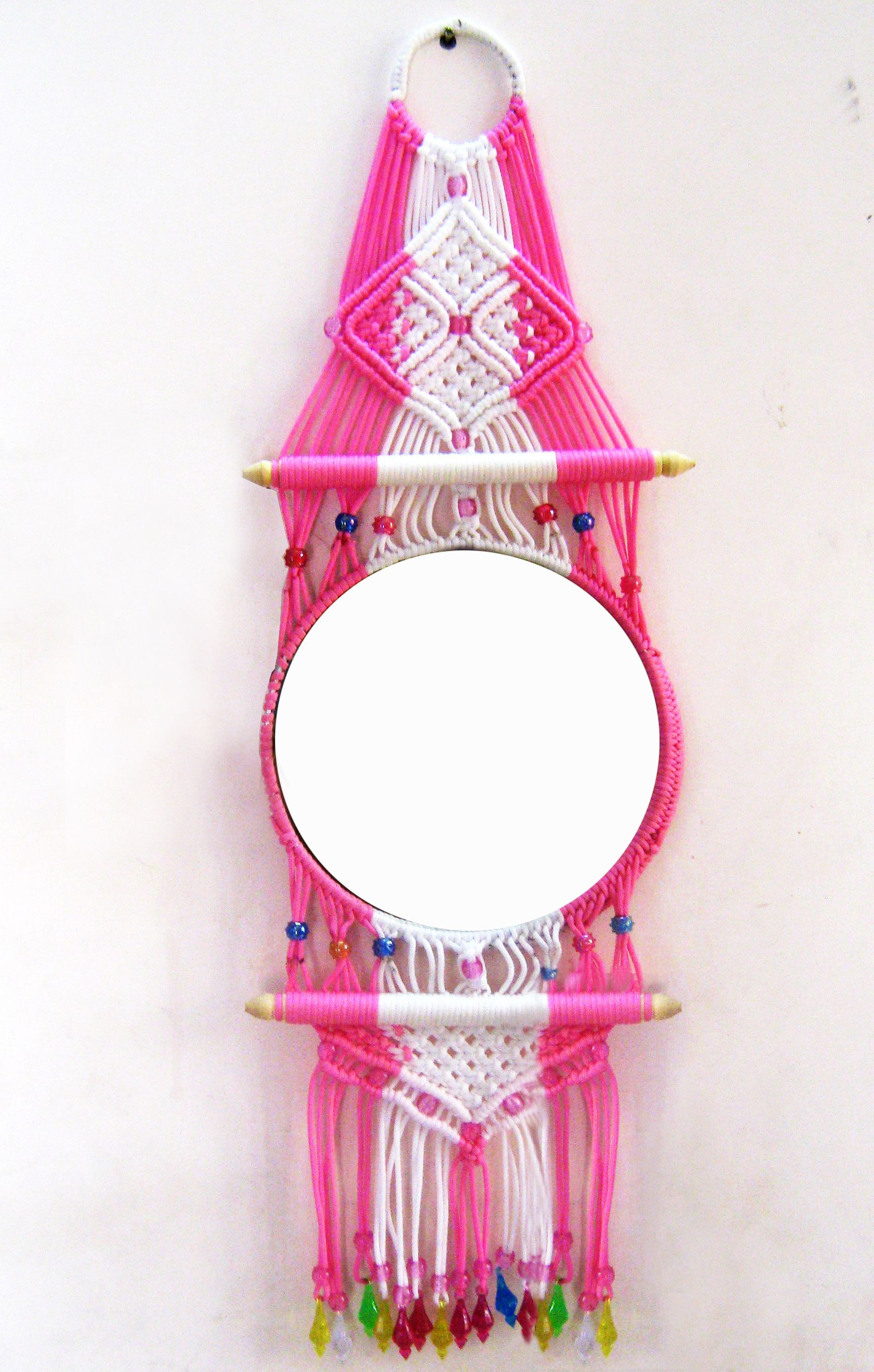 Shopclues Macrame Decorative Mirror